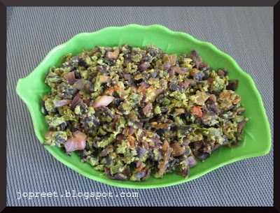 Muttai Kose(Cabbage) Bhurji