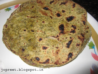 Pudina Parantha – Version 1