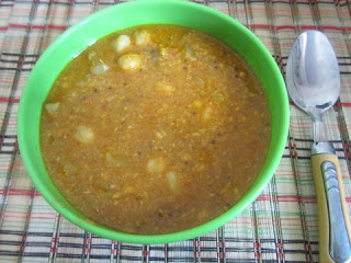 Channa Nookal Kurma – With Coconut