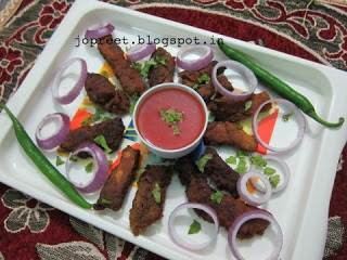 Sea-bass (koduvai) Fish Finger