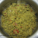 Green Scrambled Egg Curry