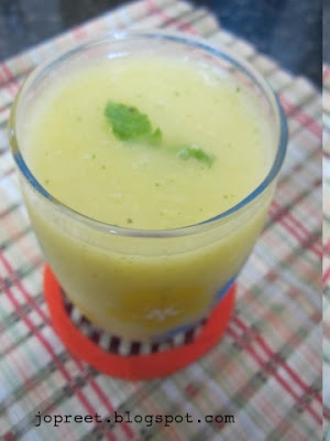 Mango Juice – Flavored with Mint & Ginger