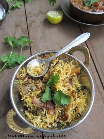 hyderabadi chicken dum biriyani jopreetskitchen