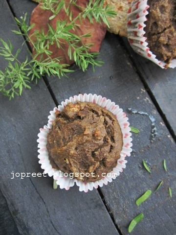 Ragi Banana & Pumpkin Muffin