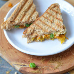 Grilled Carrot & Green Peas Sandwich – Simple Sandwich Recipes