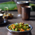 Peas, Carrot & Beans Poriyal – Simple Lunch Recipes