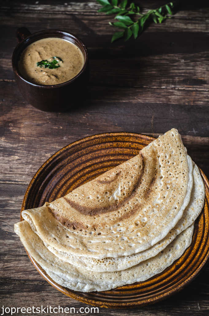 Barley & Brown Rice Dosa / Fermented Barley Crepe – Breakfast Recipes