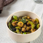 Baby Corn Pepper Fry (Indian Style Baby Corn Stir-Fry)