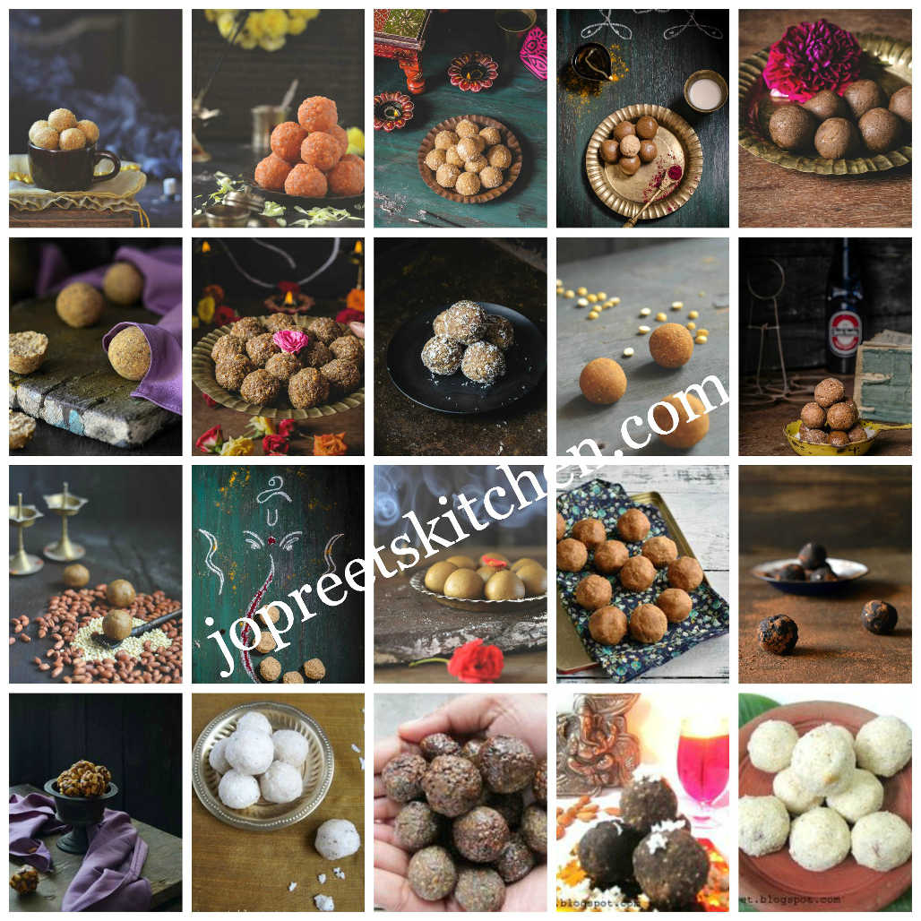 Collection of 20 Ladoo Recipes (Indian Festival Sweet Recipes) – Diwali Recipes