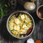 Desi Style Paneer Fried Rice / Paneer & Vegetables Fried Rice – Indian Style
