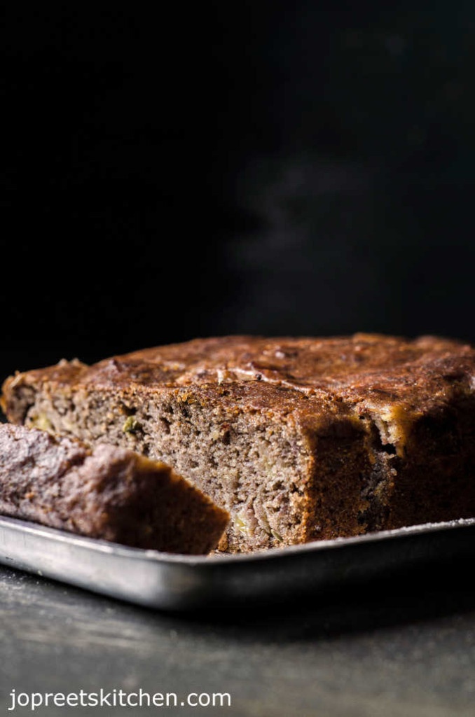 Ragi Banana Bread Eggless Ragi Honey Bread Jopreetskitchen