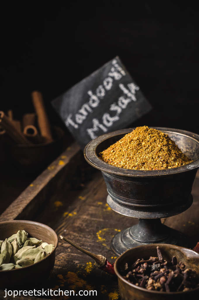Homemade Tandoori Masala Powder Recipe – Blend of Mixed Indian Spices
