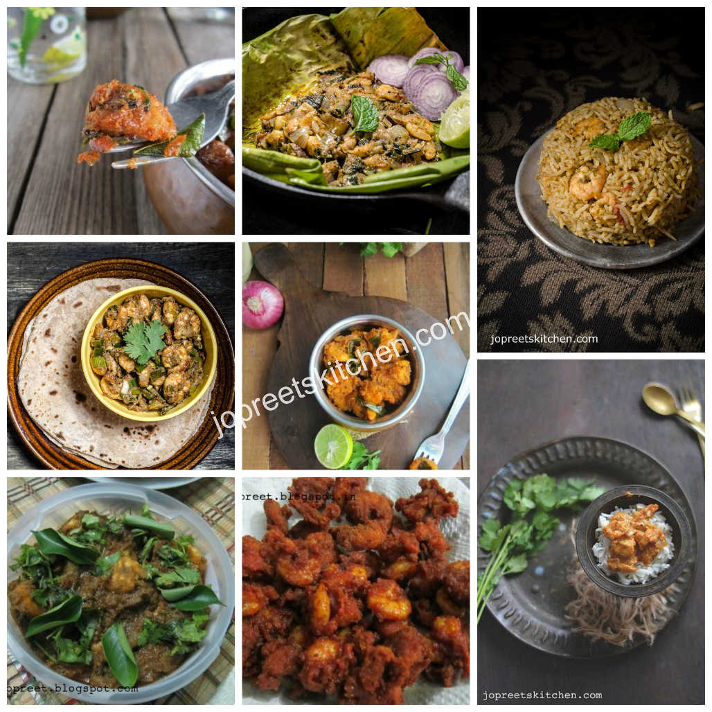 Indian Style Prawn Recipes (20+ Recipes)
