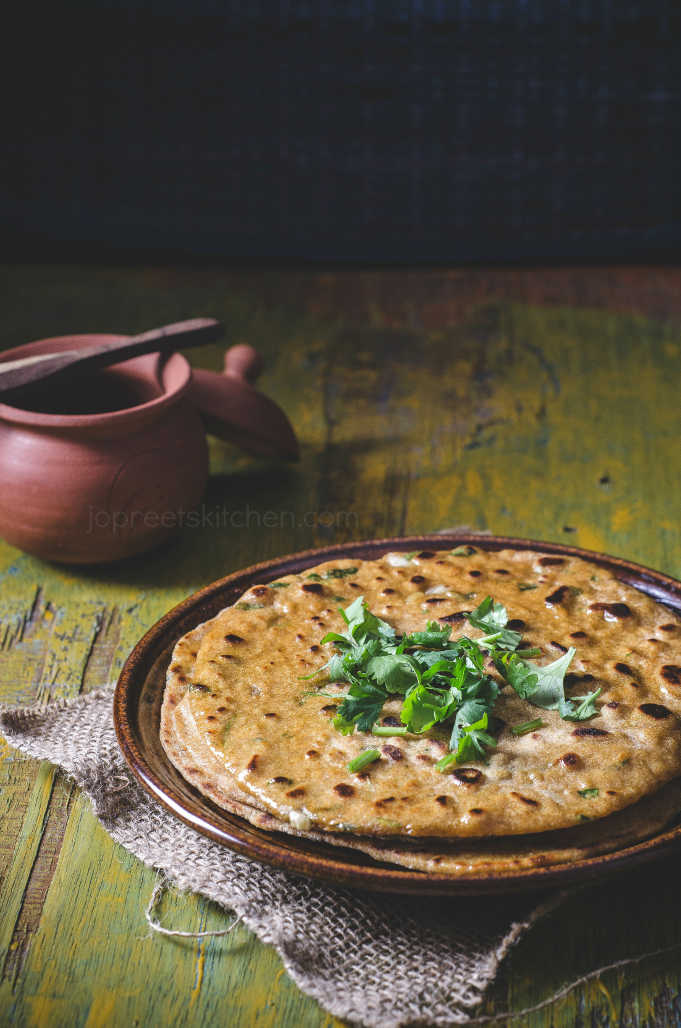 Methi Garlic Kulcha Recipe