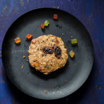 Oats, Raisin & Tutti Frutti Cookies – Eggless & Butterless