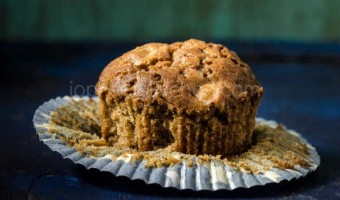 Apple Butterscotch Nuts Muffin
