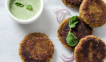 Mixed Vegetables & Paneer Cutlet