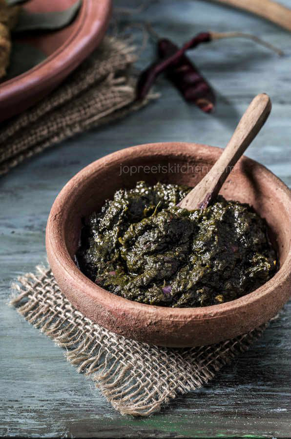 Simple Gongura Chutney