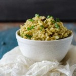 cabbage brown rice