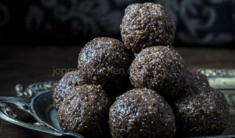 Ragi Chocolate Ladoo