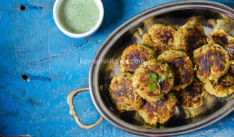 Healthy Moong Sprouts Cutlet Recipe