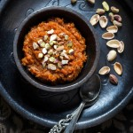 Vegan Carrot Halwa – Celebrating 4 years of Blogging