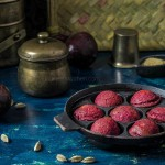 Sweet Beetroot Thinai Paniyaram