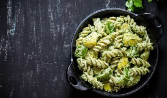 Indian Style Cold Pasta Salad