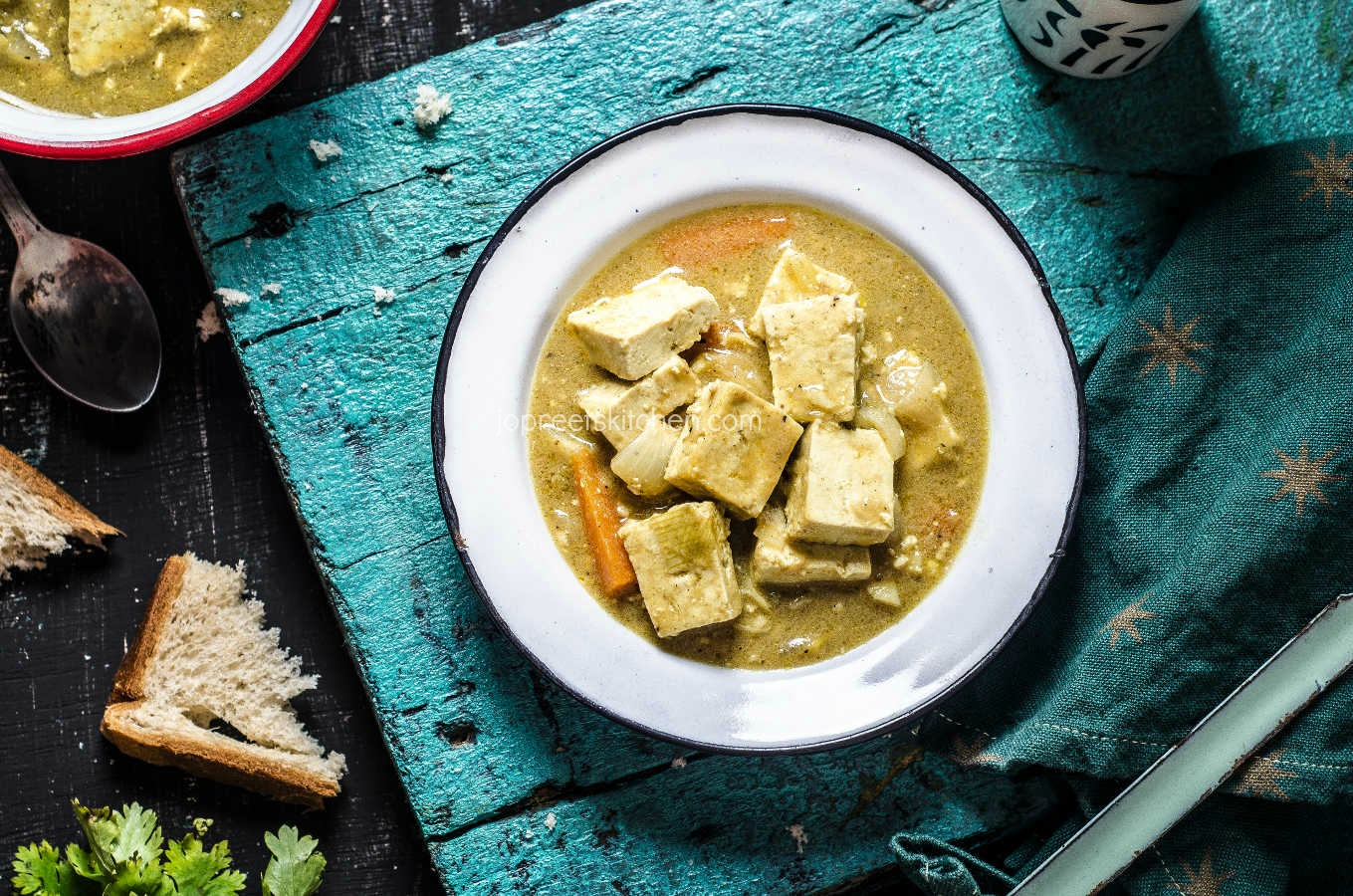 how to cook tofu in curry sauce