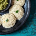Instant Barley and Rava Idli