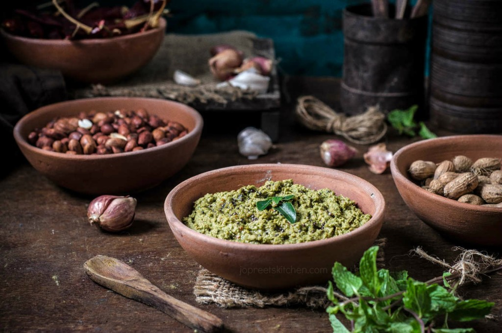 Mint Peanut Chutney Recipe