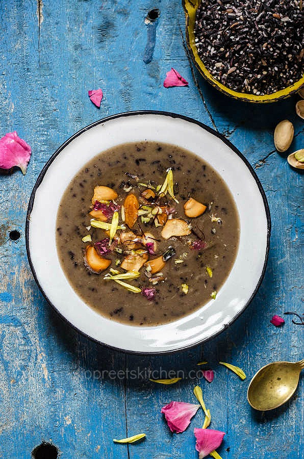 Black Sticky Rice Payasam