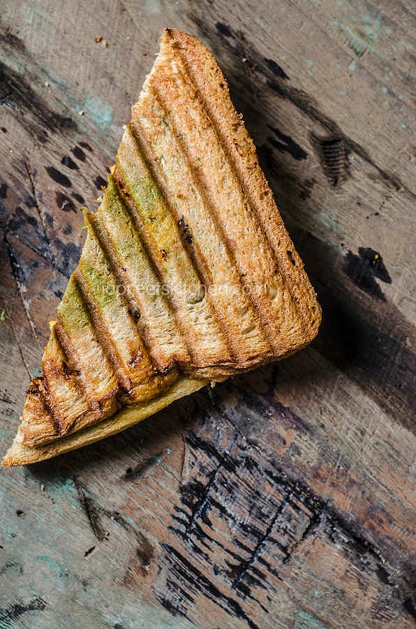 Grilled Tofu Tikka Sandwich | Indian Kitchen