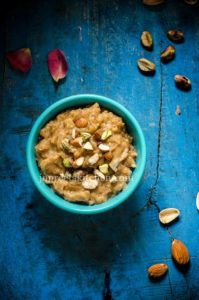 Bread Milk Halwa