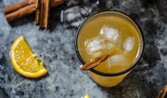 Refreshing Orange Cinnamon Iced Tea | Iced Tea Recipes