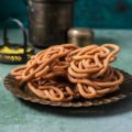Spicy Coconut Milk Chakli / Thengai Paal Murukku