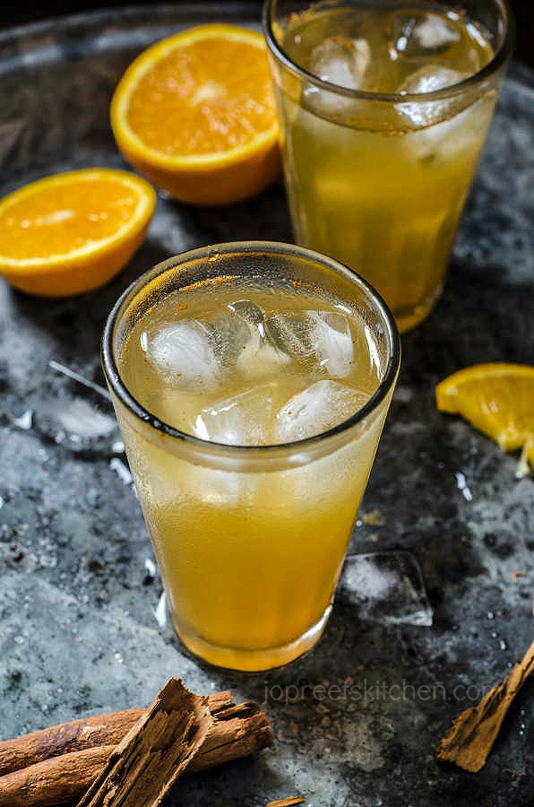 Orange Cinnamon Iced Tea