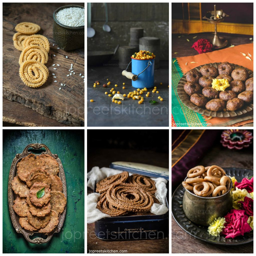 Collection of 30 Diwali Snacks Recipes