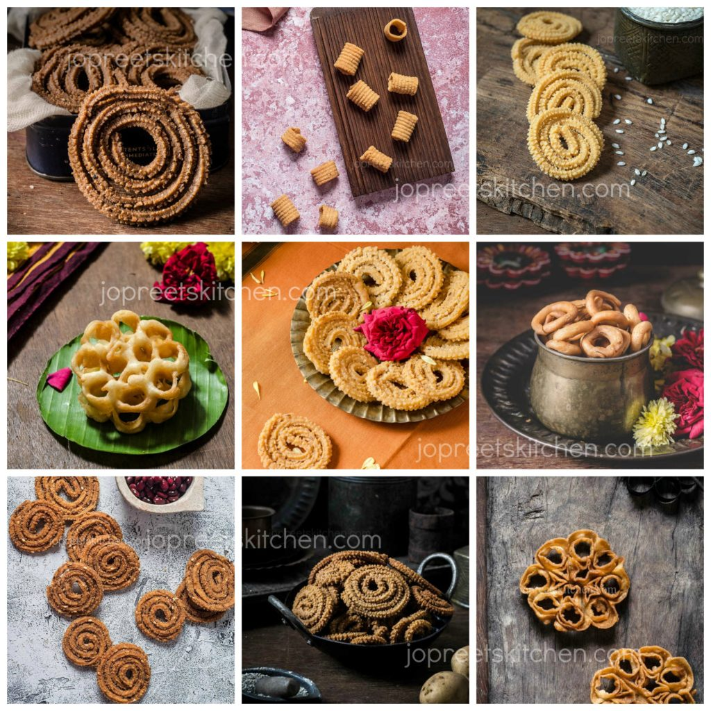 Collection of Easy Murukku Varieties