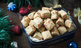 Funfetti Shortbread Bites Recipe | Christmas Recipes