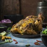 Indian Style Whole Roasted Chicken | Roasted Masala Chicken