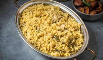 Easy South Indian Chicken Biryani, Home style Chicken Biryani Recipe