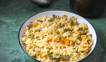 Ambur Vegetable Biryani, How to prepare Veg Dum Biryani