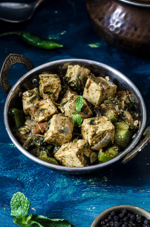 Collection of Indian style Tofu Recipes