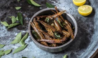 Nethili Meen Fry | South Indian style Anchovies Fry Recipe
