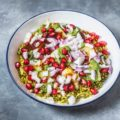 Moong Sprouts Aloo Chaat   Healthy Chaat Recipes
