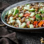 Matki Sprouts Salad | Simple Sprouts Salad Recipe