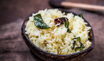 Lemon Rice in Kalchatti | Easy Lunch Box Recipes
