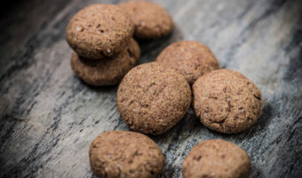 Ragi Orange Cookies | Eggless Ragi Cookies