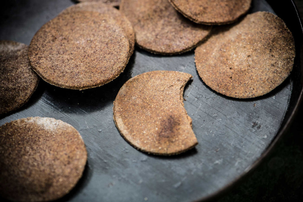 Healthy ragi crackers